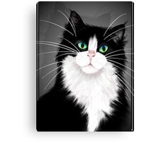 TUX-Tuxedo cats rock Canvas Print