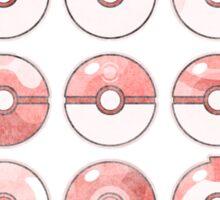 Pokemon Pokeball Red Sticker