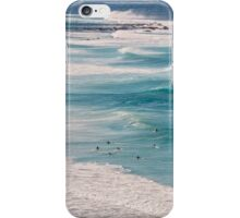 Surfs Up at Newcastle Beach iPhone Case/Skin