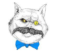 Evil Cat #1 by gogeas