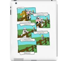 On the fence - First they came iPad Case/Skin