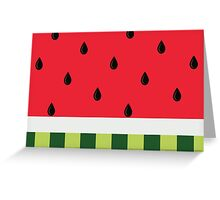 Cool as a Watermelon Greeting Card