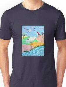 Whooping Crane Unisex T-Shirt