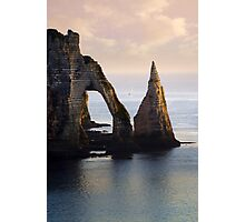 The Aval Door in Etretat  France  Photographic Print
