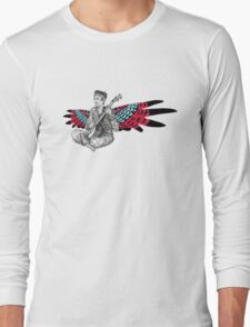 Sufjan (with wings) Long Sleeve T-Shirt