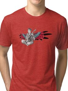 Sufjan (with wings) Tri-blend T-Shirt