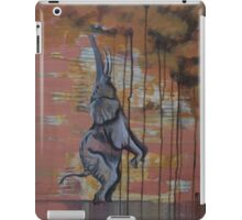 reaching up ... or ... The new life of the crying elephant iPad Case/Skin