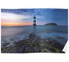 Penmon Lighthouse, Anglesey Poster