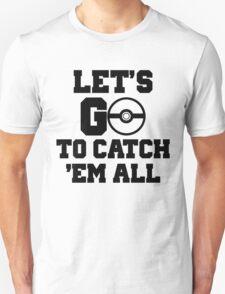 Pokémon Go 3 Unisex T-Shirt