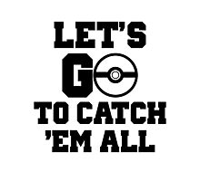 Pokémon Go 3 Photographic Print