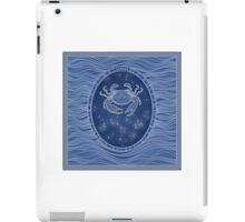 Cancer - Zodiac water sign iPad Case/Skin
