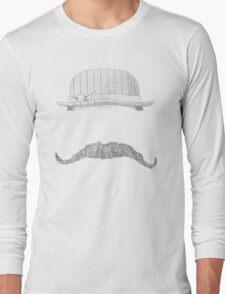 GENTLEMAN'S hat&mustache Long Sleeve T-Shirt