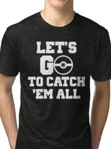 Pokémon Go 4 Tri-blend T-Shirt