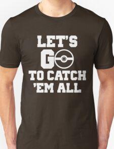 Pokémon Go 4 Unisex T-Shirt
