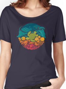 Aquatic Rainbow Women's Relaxed Fit T-Shirt