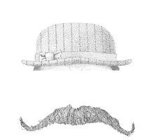 GENTLEMAN'S hat&mustache by gogeas