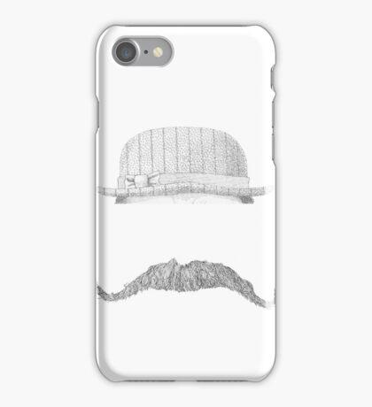 GENTLEMAN'S hat&mustache iPhone Case/Skin