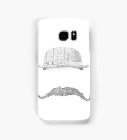 GENTLEMAN'S hat&mustache Samsung Galaxy Case/Skin
