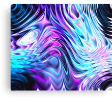 coloured swirls Canvas Print