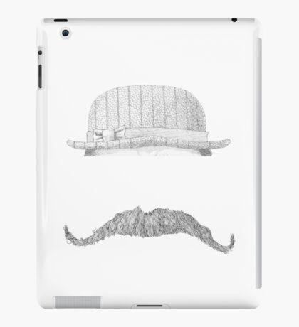 GENTLEMAN'S hat&mustache iPad Case/Skin