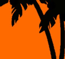 Silhouette Palm Trees Sticker