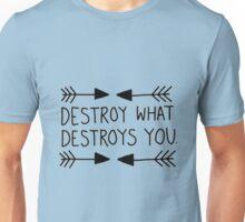 Destroy What Destroys You Unisex T-Shirt