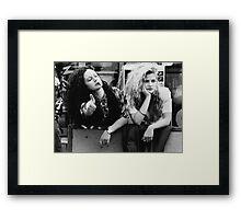 Poison Ivy - Halftone Series Framed Print