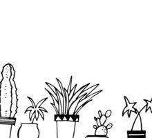 plants are always happy Sticker