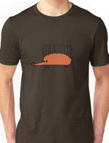 Funny orange hedgehog Unisex T-Shirt