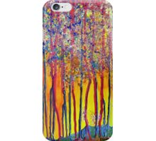 Trees at the break of a new day iPhone Case/Skin