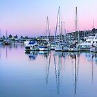 Port Ahuriri at Dusk by SeeOneSoul
