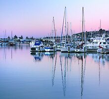 Port Ahuriri at Dusk by SeeOneSoul