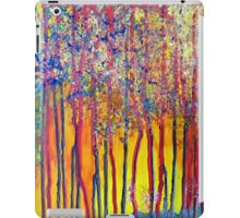 Trees at the break of a new day iPad Case/Skin