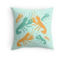 it's a kind of lobster Throw Pillow