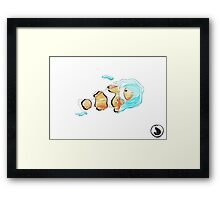 last water-last smile  Framed Print