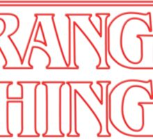 Stranger Things (2016) TV Series Sticker
