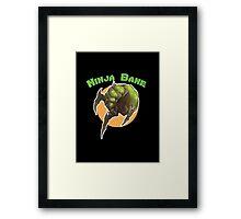 Ninja Bane Framed Print