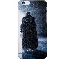 Batman Signal Rain iPhone Case/Skin