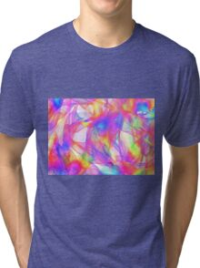 scarf colours Tri-blend T-Shirt