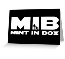 MIB - MINT IN BOX R2D2 & C3PO Action Figures Greeting Card