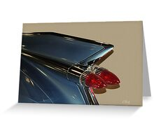 Blue Caddy Greeting Card