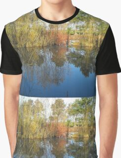 Reflections of nature Graphic T-Shirt
