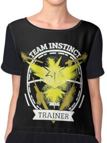 ♥ Team Instinct ♥ Chiffon Top