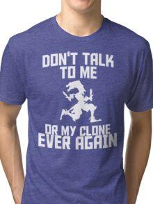 Shaco meme 2 Tri-blend T-Shirt