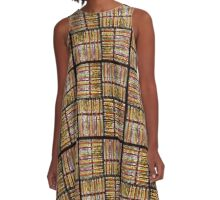 Stained Glass Window A-Line Dress