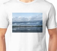 Storm is Coming - Turbulent Sky and Yachts Unisex T-Shirt