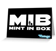 MIB - MINT IN BOX R2D2 & C3PO Kenner Style Greeting Card