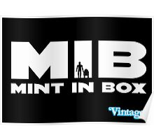 MIB - MINT IN BOX R2D2 & C3PO Kenner Style Poster