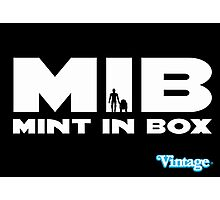 MIB - MINT IN BOX R2D2 & C3PO Kenner Style Photographic Print