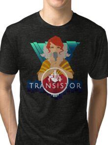 Transistor red Tri-blend T-Shirt